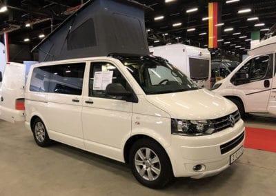 CMC Nederland - Slaaphefdak Multivan en Volkswagen Transporter 5 / 6 - Dak open witte van