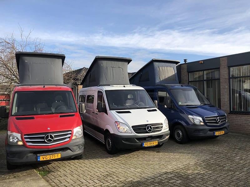 CMC Nederland - 3 Mercedes Sprinters