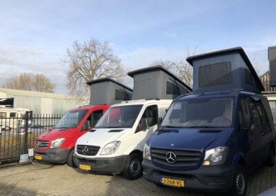 CMC Nederland - 3 verschillende Mercedes Sprinters