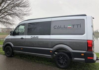 CMC Nederland - Mercedes Sprinters - Calletti zijkant