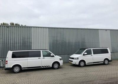 CMC Nederland - Multivan en Volkswagen transporter - Tegenover elkaar